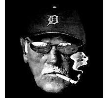 Cigarette Smoking Jim Leyland Photographic Print