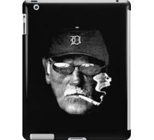 Cigarette Smoking Jim Leyland iPad Case/Skin