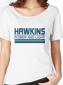 Hawkins Power & Light Women's Relaxed Fit T-Shirt