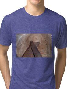 Scraper to finish inside Tri-blend T-Shirt