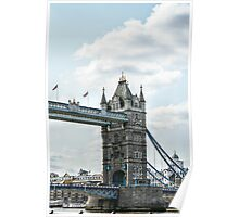 North Tower on Tower Bridge Poster