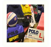 Polo Sporting Goods Art Print