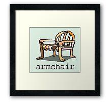 armchair Framed Print