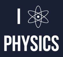 I (heart) physics Kids Tee