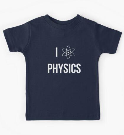 I (heart) physics Kids Tee