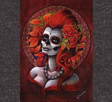 Autumn - Day of the Dead - Sugar skull girl Unisex T-Shirt