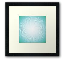 abstract line background Framed Print