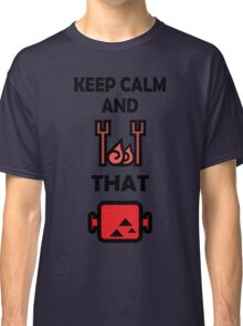 Keep Calm and BBQ that Meat Classic T-Shirt