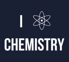I (heart) chemistry!  Kids Tee