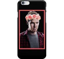 Benedict Cumberbatch in a Flower Crown iPhone Case/Skin