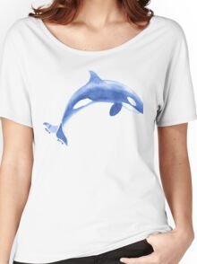 Orca Blue version Women's Relaxed Fit T-Shirt