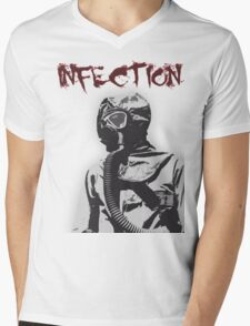 Infection Mens V-Neck T-Shirt