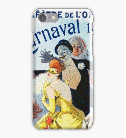 Vintage Jules Cheret 1896 Carnaval 1892 iPhone Case/Skin