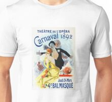 Vintage Jules Cheret 1896 Carnaval 1892 Unisex T-Shirt
