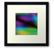 multicolor abstract background Framed Print
