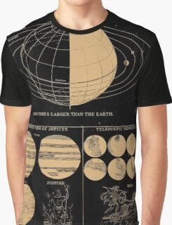 Smith's Illustrated Astronomy - Jupiter and Mars - Page 26 Graphic T-Shirt