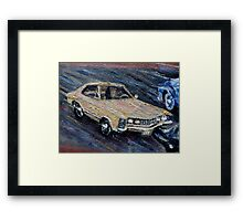 BUICK RIVIERA - CLASSIC Framed Print