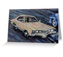 BUICK RIVIERA - CLASSIC Greeting Card