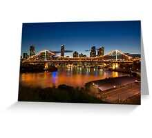 Storey Bridge at Twilight Greeting Card