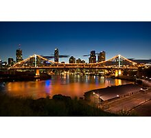 Storey Bridge at Twilight Photographic Print