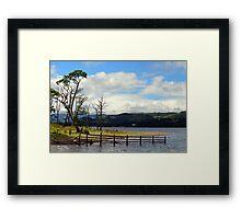 Ullswater Summer Tones Framed Print
