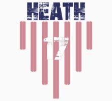 Tobin Heath #17   USWNT Olympic Roster Kids Tee