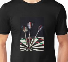 3 of a Kind or Bulls Eye Unisex T-Shirt
