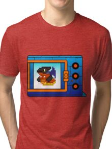 digimon vpet v4 megadramon Tri-blend T-Shirt