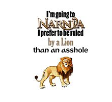 I'm going to Narnia Photographic Print
