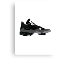 AIR JORDAN IV (4) FEAR Canvas Print