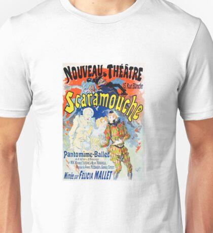 Vintage Jules Cheret 1896 Scaramouche Unisex T-Shirt
