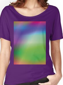 abstract multicolor background Women's Relaxed Fit T-Shirt