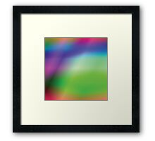 abstract multicolor background Framed Print