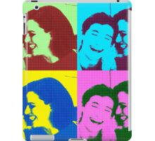 Lana Parrilla and Jared Gilmore at San Diego Comic Con 2016 iPad Case/Skin