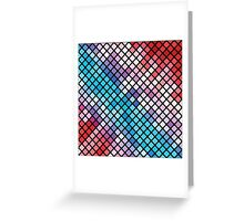 colorful abstract background Greeting Card