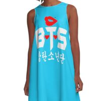 ♥♫Love BTS-Bangtan Boys K-Pop Clothes & Phone/iPad/Laptop/MackBook Cases/Skins & Bags & Home Decor & Stationary♪♥ A-Line Dress