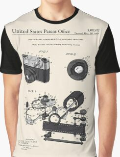 Camera Patent 1963 Graphic T-Shirt