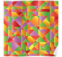 abstract mosaic background Poster