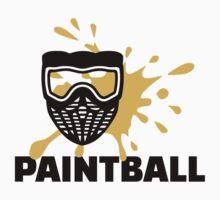 Paintball splash mask by Designzz