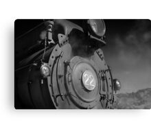 W22 Steam Engine Canvas Print