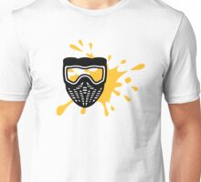 Paintball mask color Unisex T-Shirt