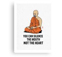 Silenced.... Canvas Print