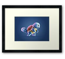 Porymon Squirtle | Pokemon Framed Print
