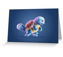 Porymon Squirtle | Pokemon Greeting Card