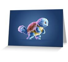 Porymon Squirtle | Pokemon Greeting Card