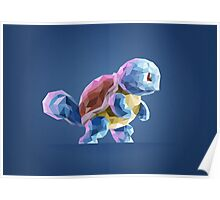 Porymon Squirtle | Pokemon Poster