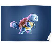 Porymon Squirtle   Pokemon Poster