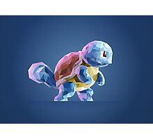 Porymon Squirtle | Pokemon Photographic Print