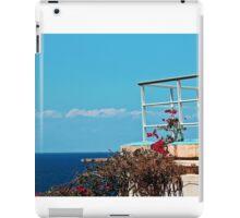 Terraza del Relax iPad Case/Skin