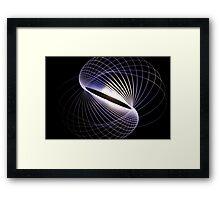 Spiralling Framed Print